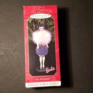 Hallmark Ornament Gay Parisienne Barbie
